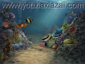 3D Sea Aquarium Screensaver