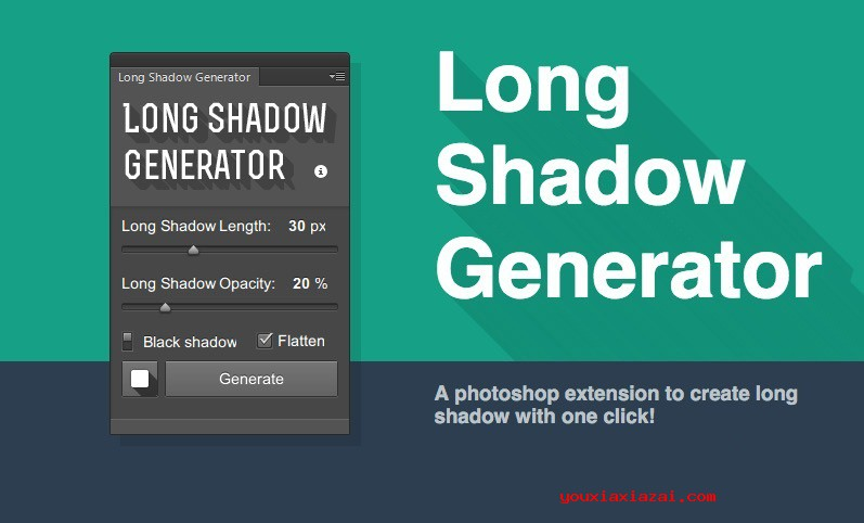 Long-Shadow-Generator插件封面